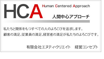 経営コンセプトHCA